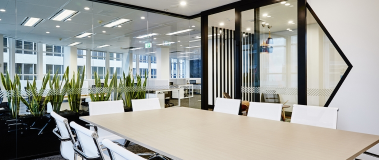 Successful office fitout project business
