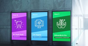 digital signage design