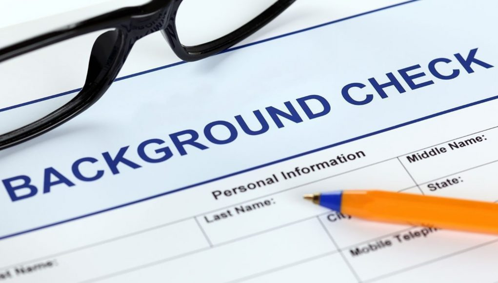 Red flags in the background checks